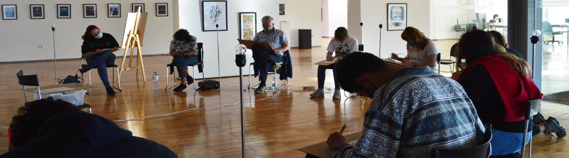 Workshop de introdução ao desenho